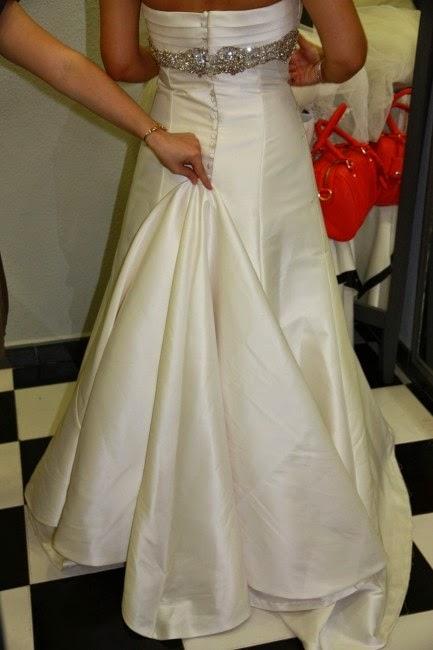 cÓmo se recoge la cola del vestido de novia - booknovias