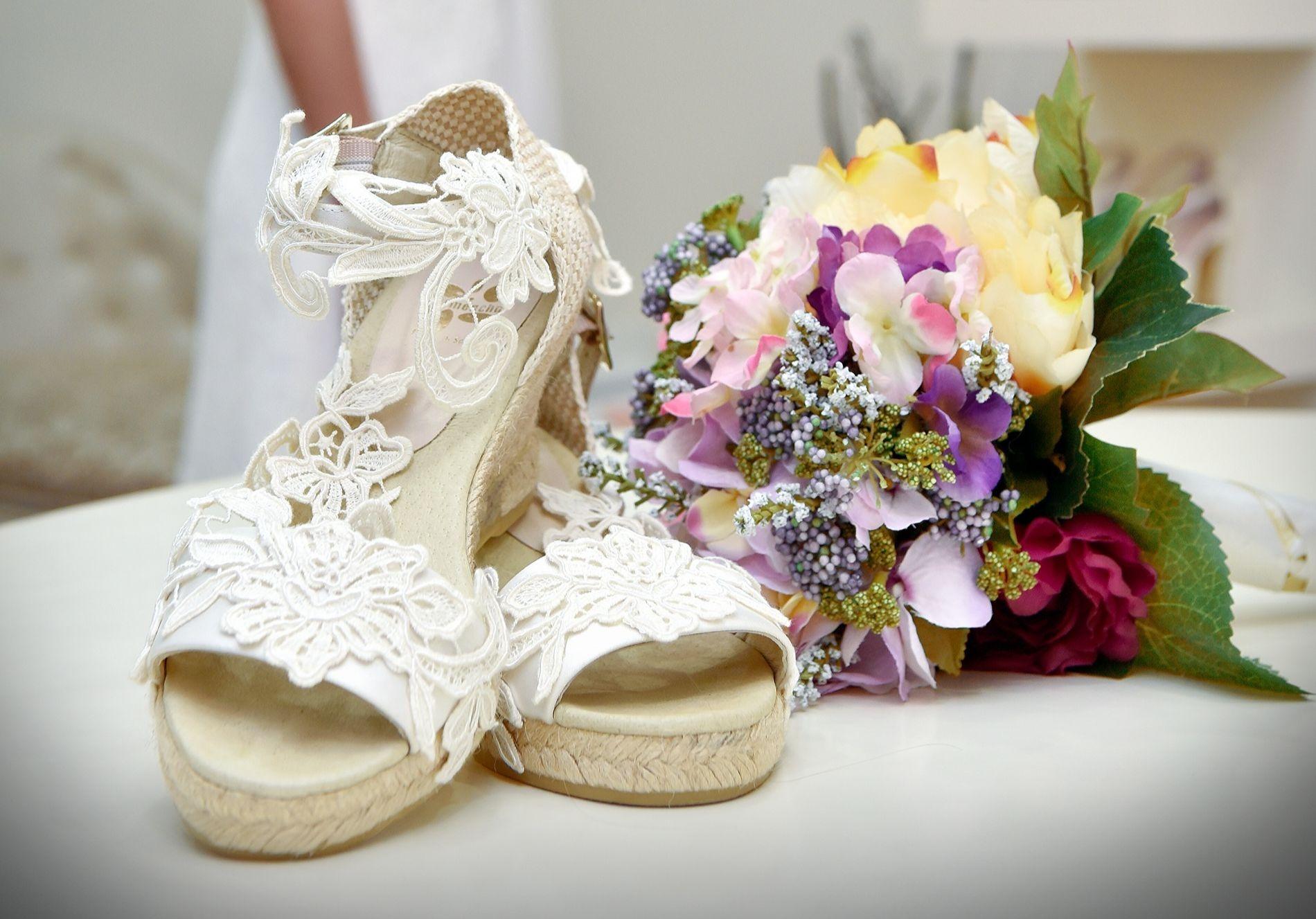 Novetats en calçat per la núvia